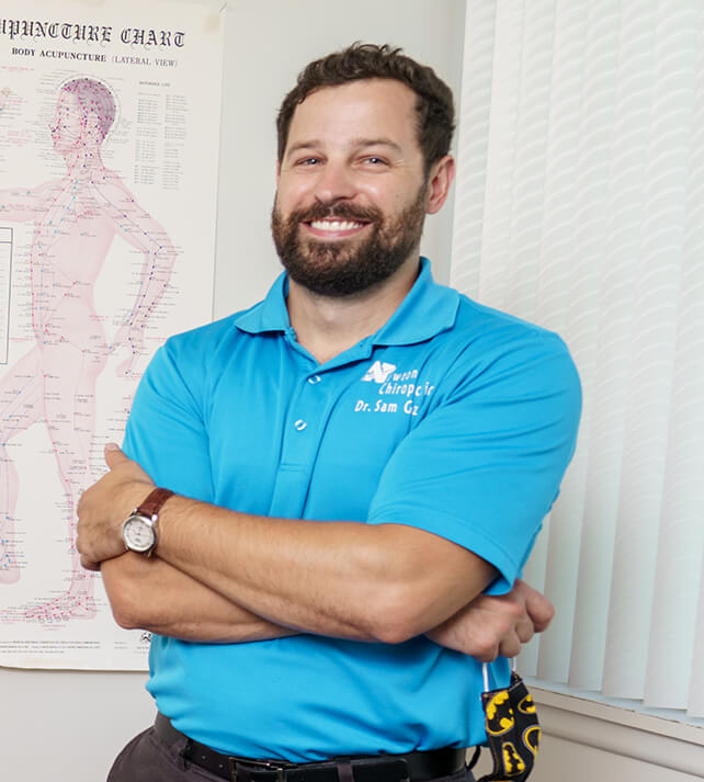 Dr. Sam Gatz is a Newton Chiropractor Dedicated to Preventing Pain